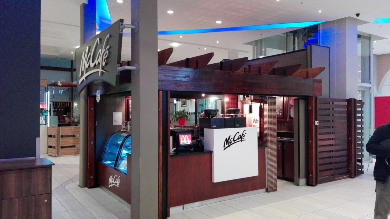 McDonalds Drive Thru Store